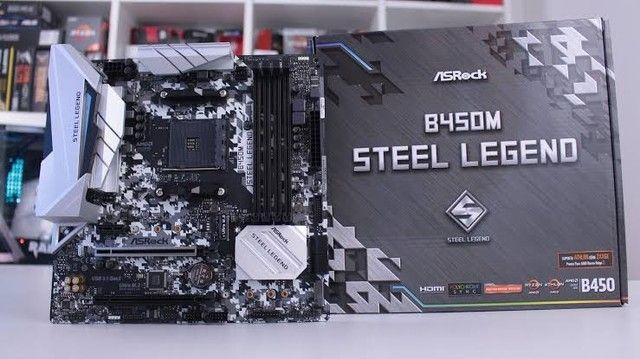 Steel Legend b450m NOVA