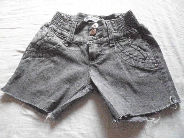 Short Jeans Via Atual - Tamanho 36 - Foto 5