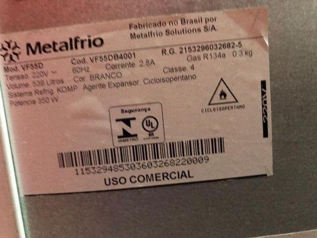 Freezer vertical/Refrigerador 539 litros - Metalfrio 220 V - Foto 4