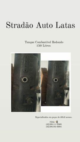 Tanque de combustível redondo / Tanque de combustível redondo  - Foto 2