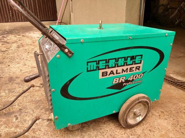 Máquina de solda Balmer BR400 - Foto 2