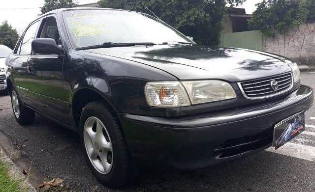 Corolla xei 1.8, gasolina, câmbio automático, completo, ano 2002/2002 - Foto 6