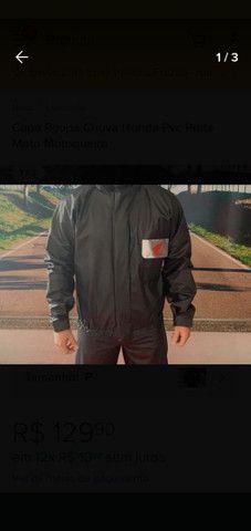 Capa de chuva motoqueiro Honda