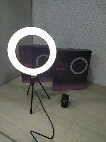 RING LED LIGHT PARA MESA 130 Reais