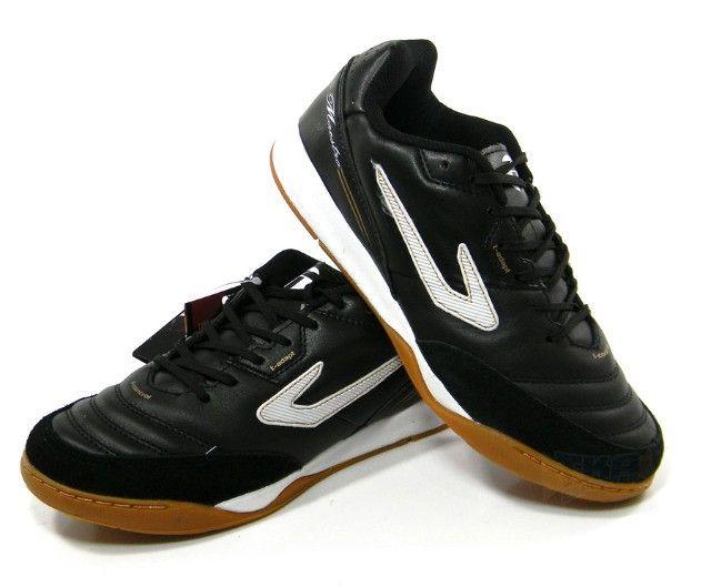 Chuteira Futsal Topper Maestro PRO 3 preto tam: 37 ao 42
