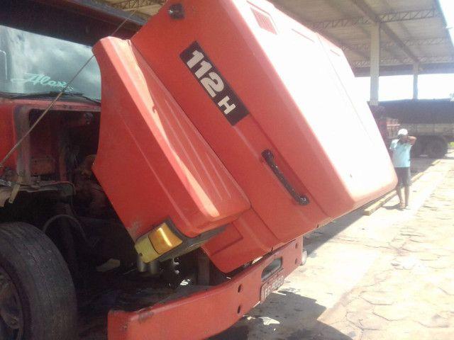 Scania 112h engatado carreta khronne 88 - Foto 7
