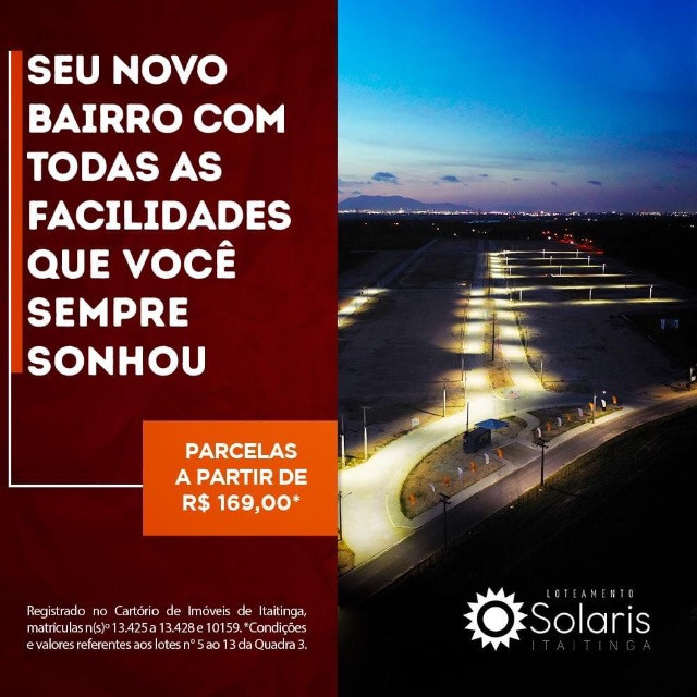 Loteamento Solaris em Itaitinga # - Foto 3