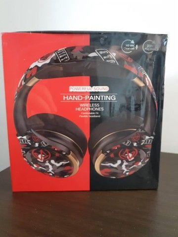 Headphone Bluetooth & Microfone EL-A1. Novo! Entrega Grátis! - Foto 2