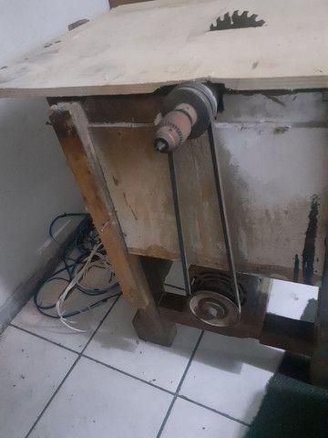 Vendo bancada de corte.... motor de 3cv de alta monofásico  - Foto 3