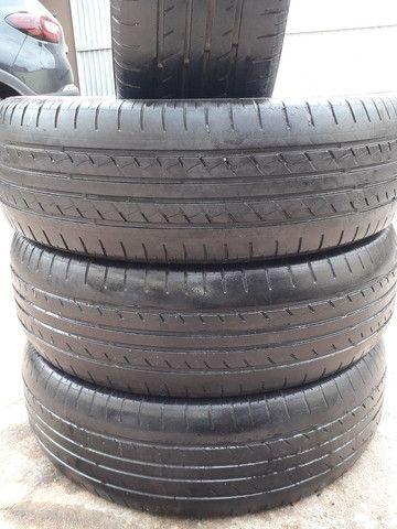 Vendo pneus aro 17 semi novos  - Foto 2