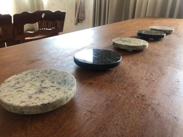 Sousplat em granito para mesa - Foto 2