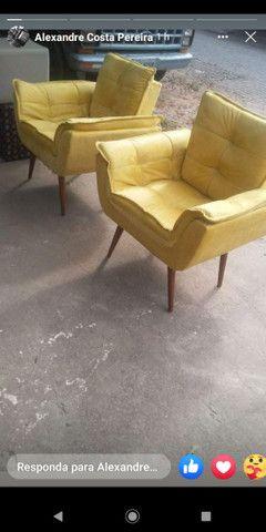 Cadeira de varanda ou beira da piscina ou sala de star - Foto 2