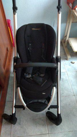 2 Carrinhos de bebê poucos usado mais bebê conforto - Foto 3