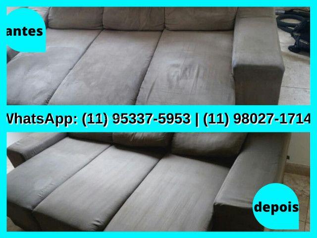 Deixo seu Sofá Limpinho | Deixo seu Sofa Limpinho | Higienização de Sofá | Sofá - Foto 6