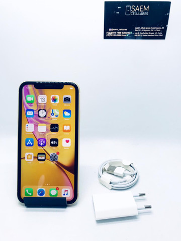 iPhone XR 64GB amarelo - Foto 2