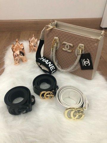 Cinto e bolsa