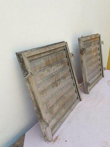 Portas de aluminio tam. 50 x 50 cada $ 120,00 zap. 98687.7951 - Foto 5