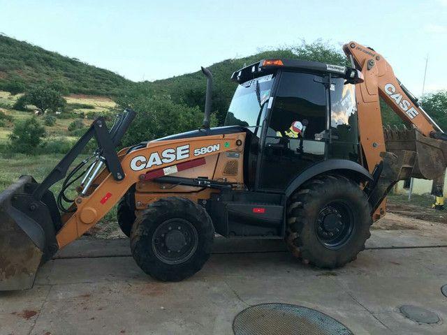 Retroescavadeira Case 580N ano 2019 - Foto 3