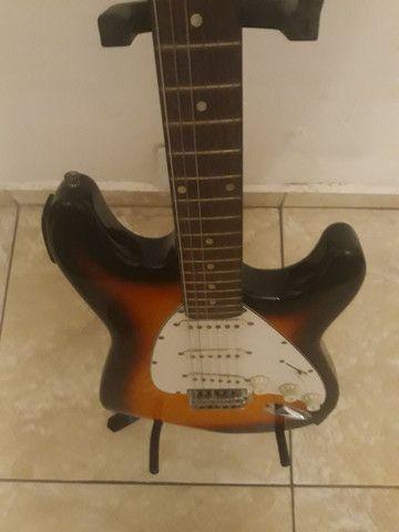 Guitarra strato Dolphin nova