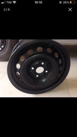 Roda 14 de ferro Toyota Etios Nova - Foto 2