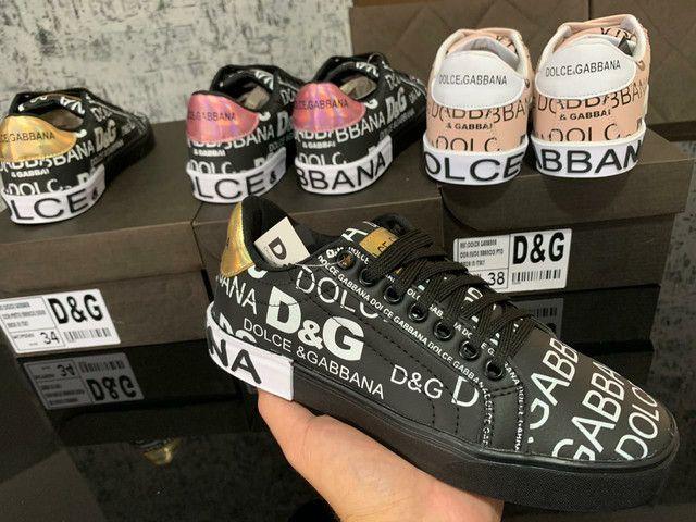 Dolce e Gabbana Primeira Linha na Caixinha Atacado - Foto 2