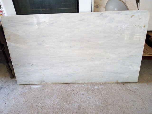 Pedra de mármore 250,00 pedra menor 100,00 pia de banheiro 300,00 fogão 250,00 - Foto 2