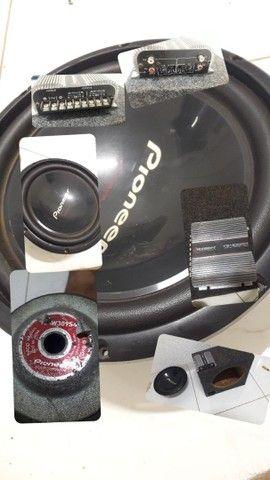 Cara preta Pionner 1400W Taramps 400 - Foto 6