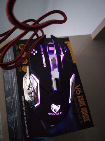Mouse Gamer 6 Botões Professional USB RGB Novo Lacrado!!! - Foto 2
