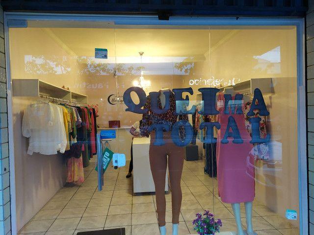 Equipamentos de loja de roupas