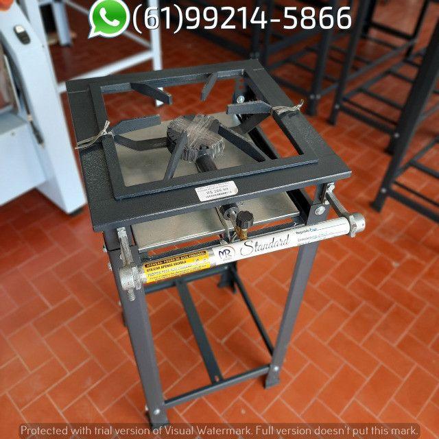 Fogão 1 Boca AP Standard Alta Pressão 30x30 Perfil 5 Industrial MR Fogões - Foto 3