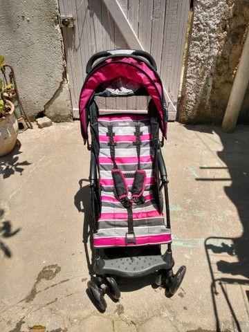 2 Carrinhos de bebê poucos usado mais bebê conforto - Foto 2