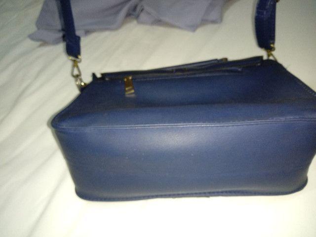 Bolsa azul - Foto 2