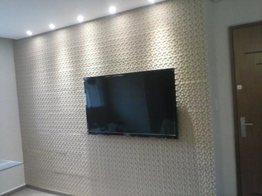 Placa de gesso 3d revestimento de parede r 25 00 - Placas para paredes ...