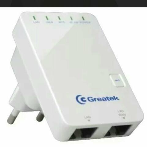 Mini Roteador e Repetidor Greatek Wr3300n - 300mbps
