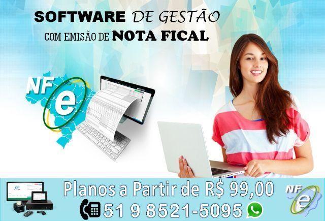 Software de Gestão com Emissão de Nota Fiscal
