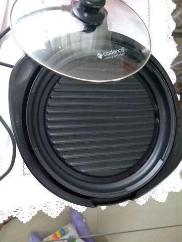 Panela Elétrica Savory Grill Cadence Redonda