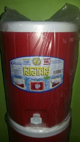Garrafa térmica 19 litros