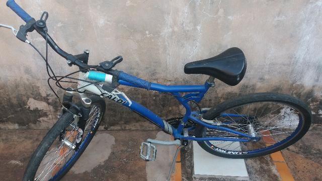 Bicicleta Caloi 21 marchas aro aero/cubos e raios novos 400,00