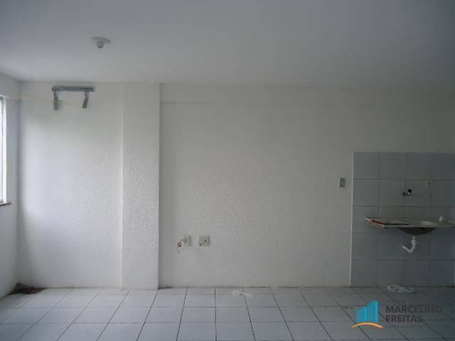 Apartamento com 1 dormitório para alugar, 50 m² por R$ 609,00/mês - Centro - Fortaleza/CE - Foto 8