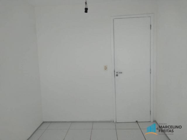 Apartamento com 3 dormitórios para alugar, 63 m² por R$ 1.509/mês - Monte Castelo - Fortal - Foto 7