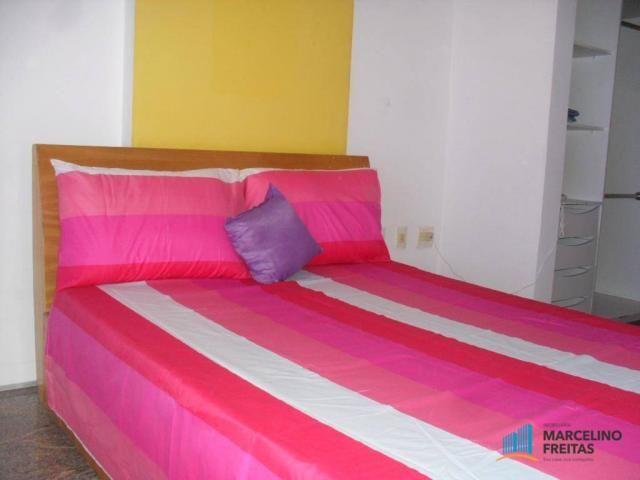 Flat residencial para locação, Mucuripe, Fortaleza. - Foto 18