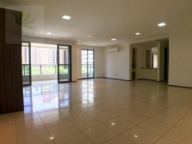 Apartamento com 3 dormitórios à venda, 149 m² por R$ 875.000 - Guararapes - Fortaleza/CE - Foto 2
