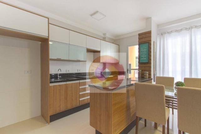Apartamento com 2 dormitórios à venda, 52 m² por R$ 173.500 - Cidade Industrial - Curitiba