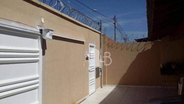 Casa com 3 dormitórios para alugar, 110 m² por R$ 1.600,00/mês - Jardim Holanda - Uberlând - Foto 4