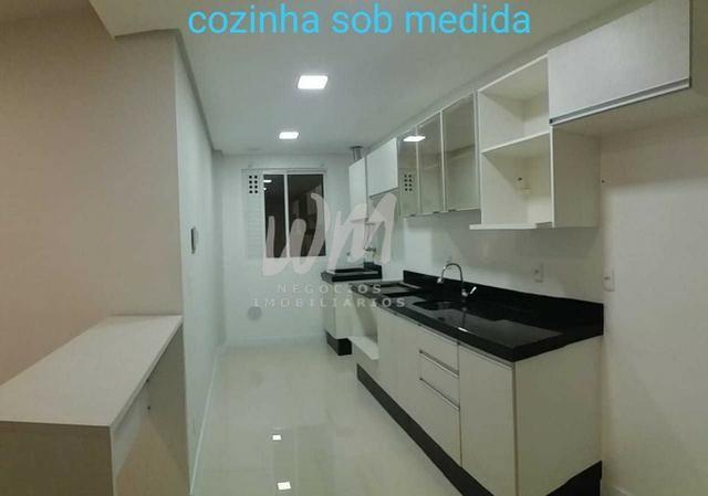 Locação apartamento semi-mobiliado com 2 vagas de garagem | Bairro Vila Operária