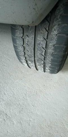 Rodas aro 17 pneus Zero - Foto 2