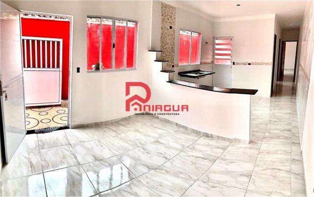 Casa à venda com 2 dormitórios em Nova itanhaém, Itanhaém cod:1356 - Foto 12