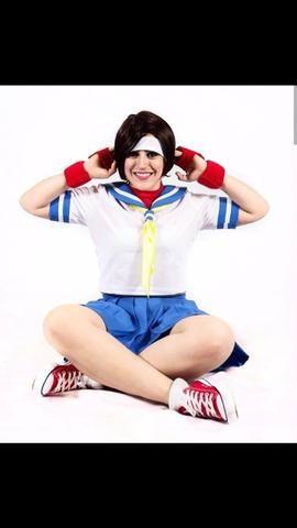 Cosplay Sakura Street Fighter