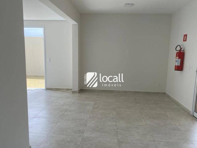 Apartamento com 1 dormitório para alugar, 55 m² por r$ 1.300/mês - vila são pedro - são jo - Foto 9