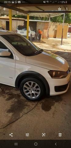 Vendo saveiro trend 1.6 2014 aceita troca de carro de menor valor - Foto 2